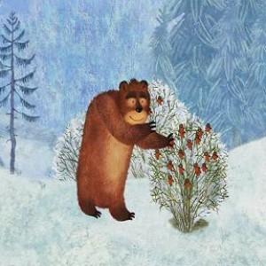 Зимна история за двама приятели и една мечка