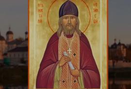 Свети Нектарий Оптински и котето